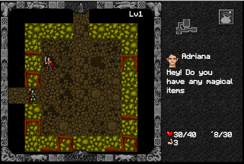 Cave environment (preview), and a NPC