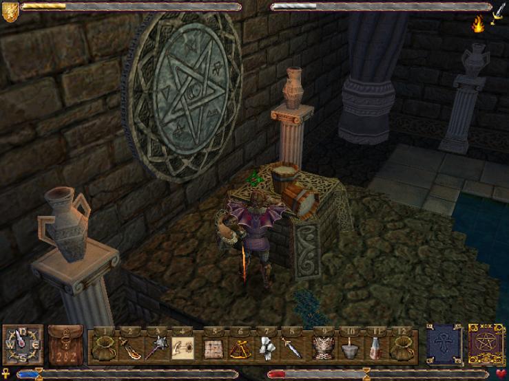 Crazy ancient dungeon builders...