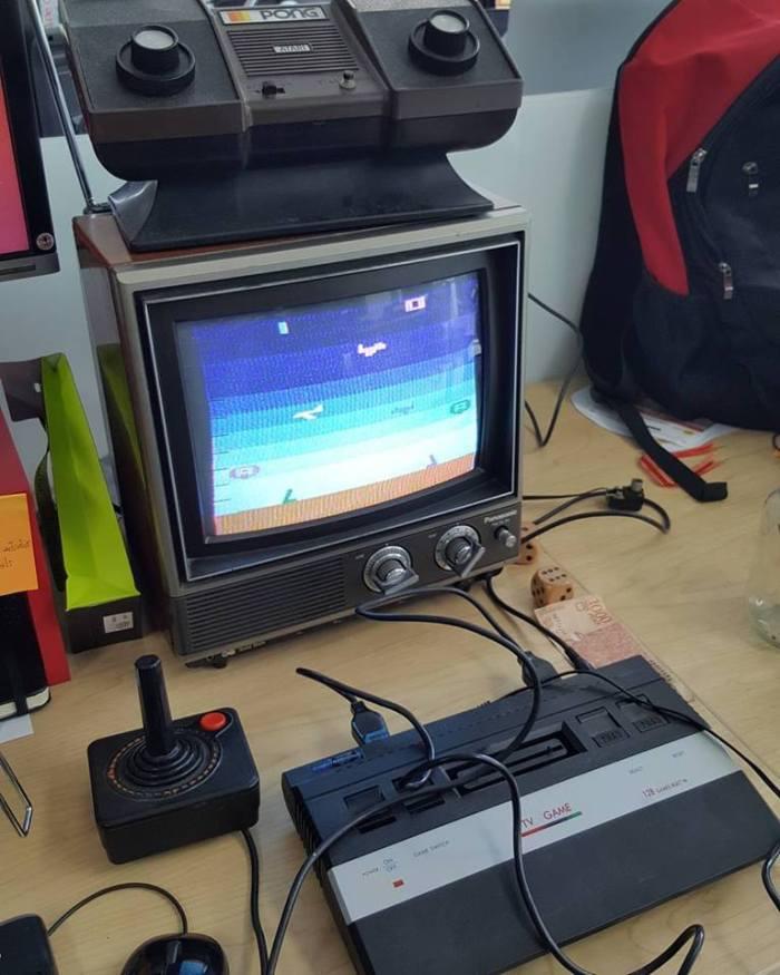 Atari 2600 at work