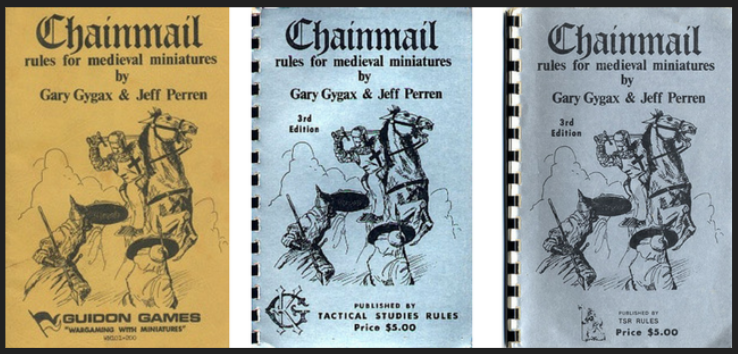 Chainmail - rules for medieval miniatures