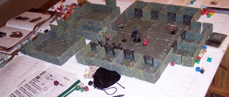A D&D Game in progress